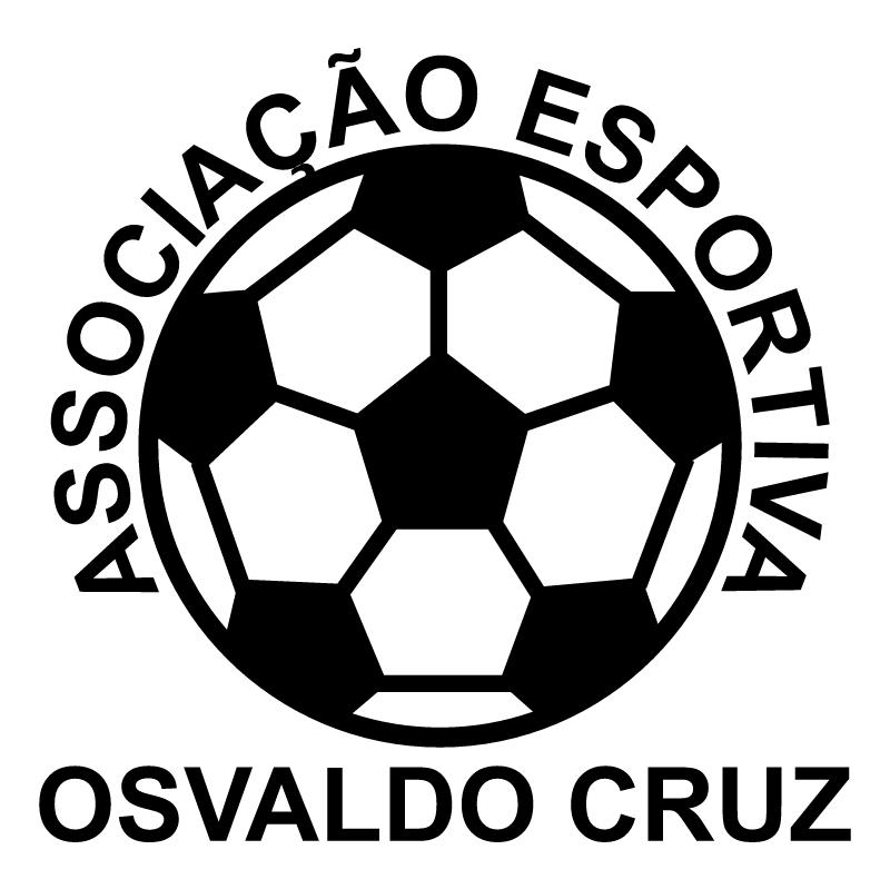 Associacao Esportiva Osvaldo Cruz de Osvaldo Cruz SP vector
