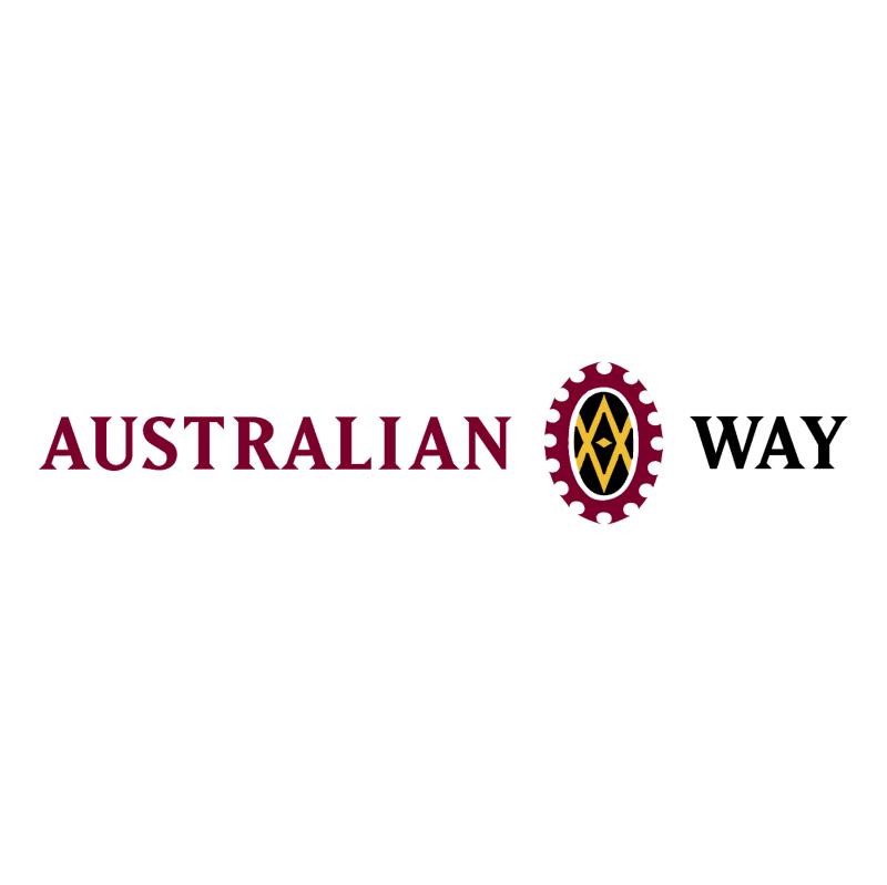 Australian Way vector