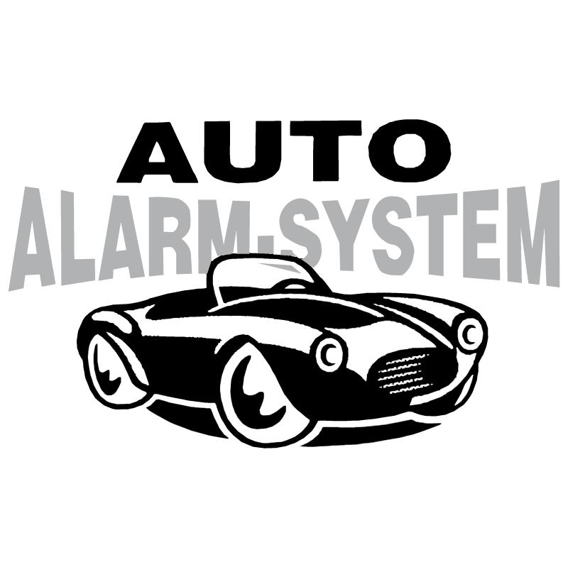 Auto Alarm System vector