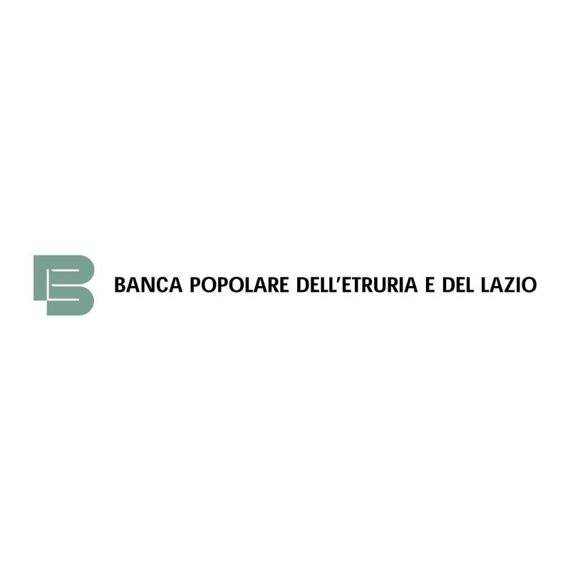 Banca Popolare dell'Etruria e del Lazio vector