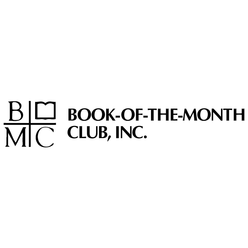 Book of the Month Club vector logo