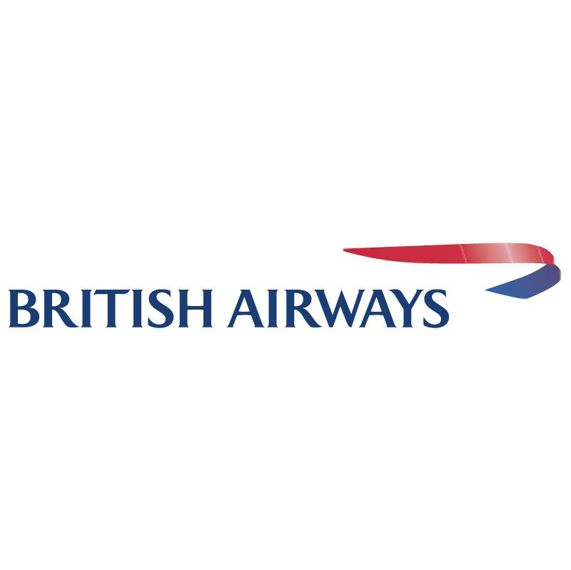 British Airways 6145 vector