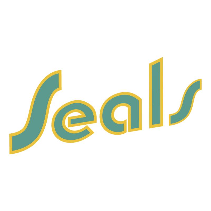 California Golden Seals vector
