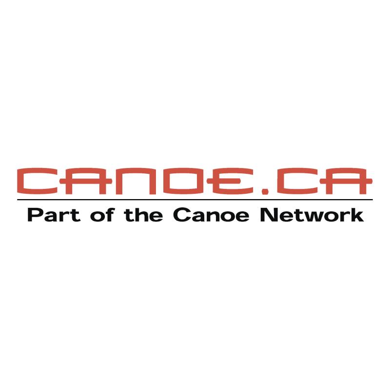 Canoe ca vector