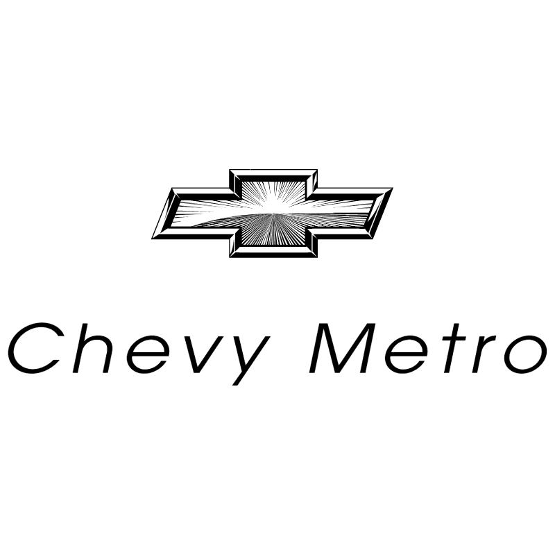 Chevy Metro 8938 vector