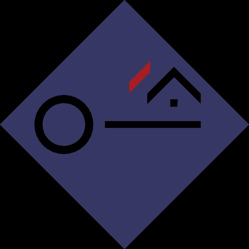 Credit Immobilier de France vector logo