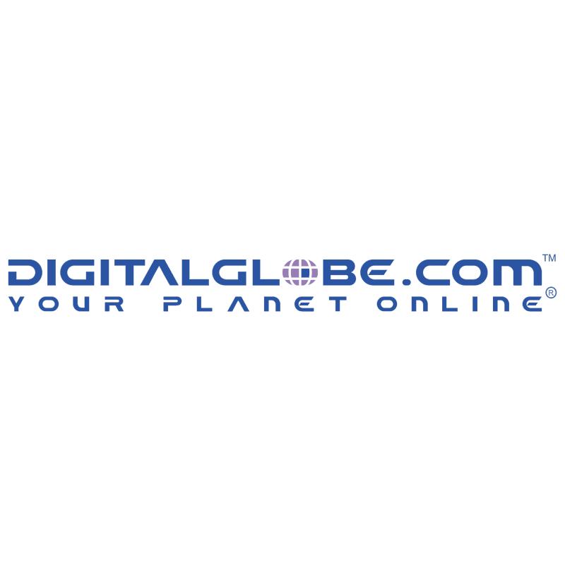 Digitalglobe com vector logo
