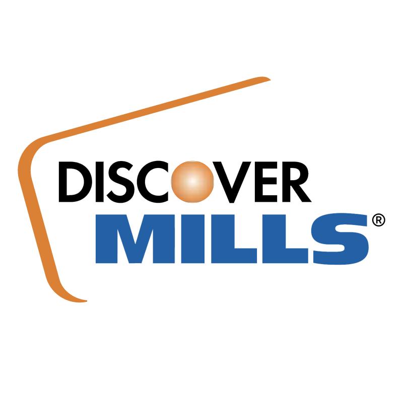 Discover Mills vector logo