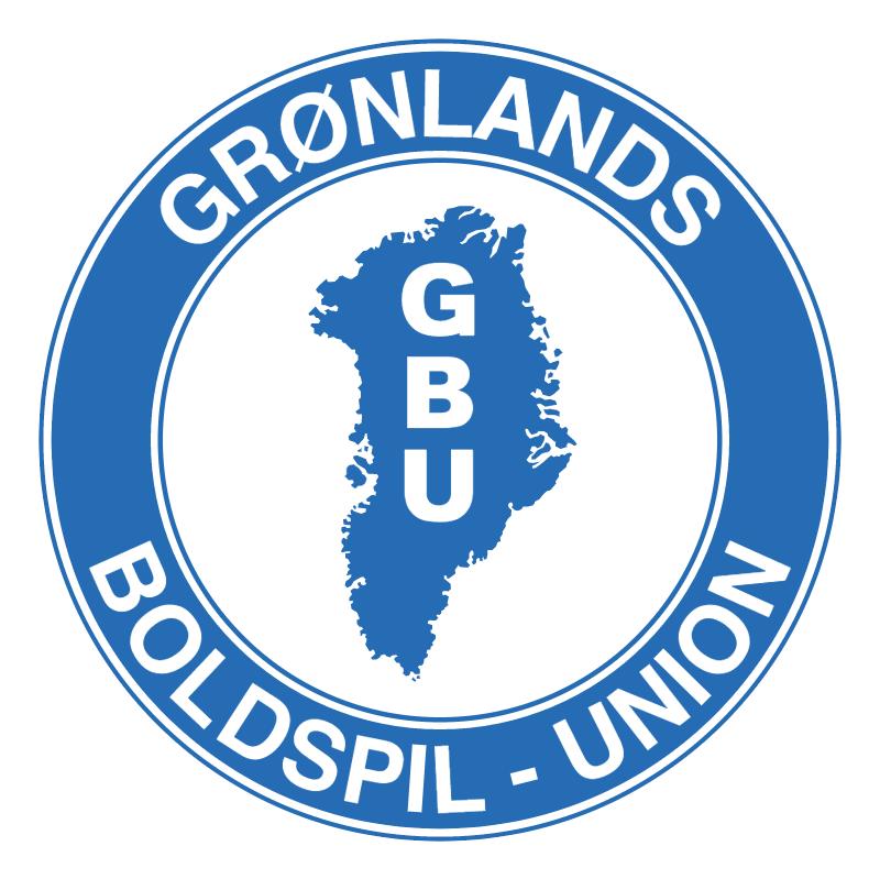 Gronlands Boldspil Union vector