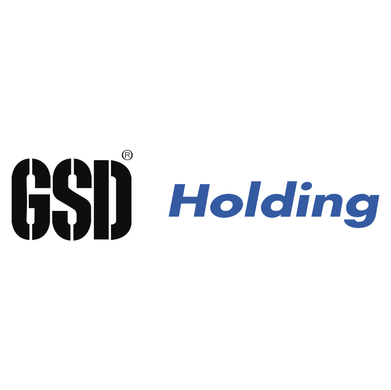 GSD Holding vector logo