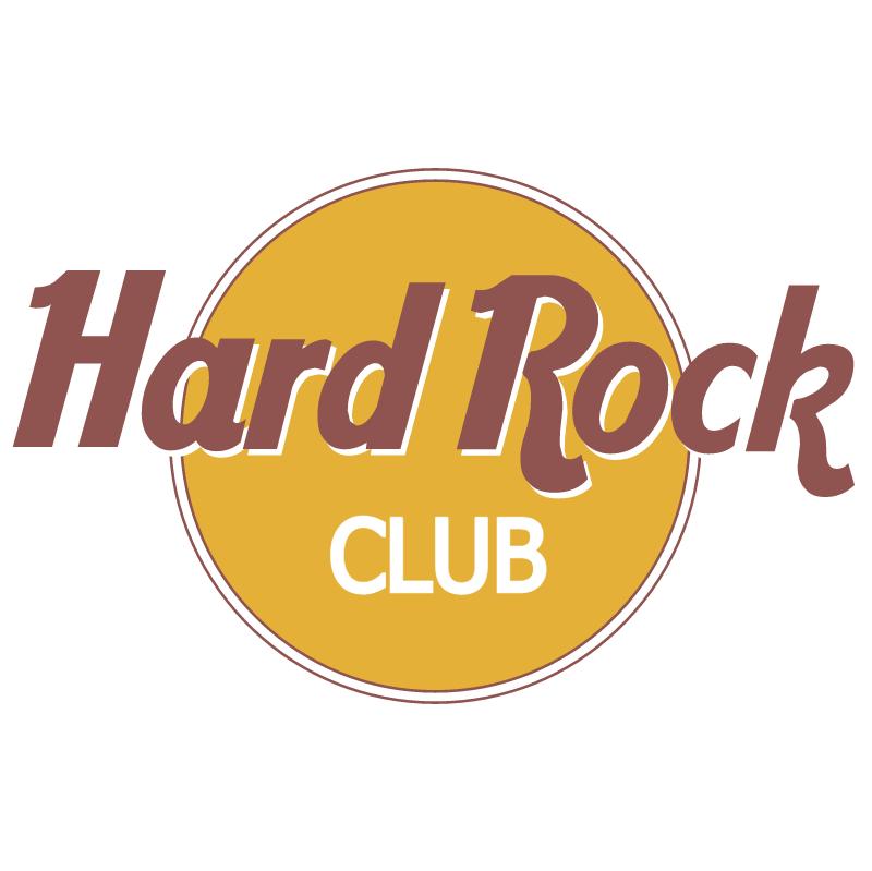 Hard Rock club vector