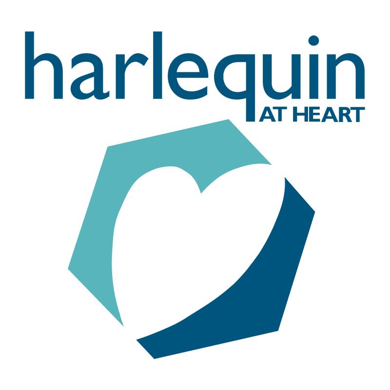 Harlequin At Heart vector