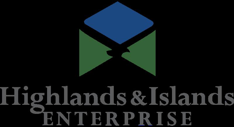 HIGHLANDS & ISLANDS ENTERPR vector