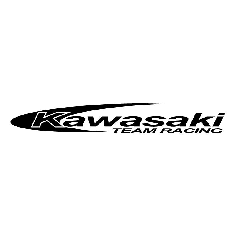 Kawasaki Team Racing vector