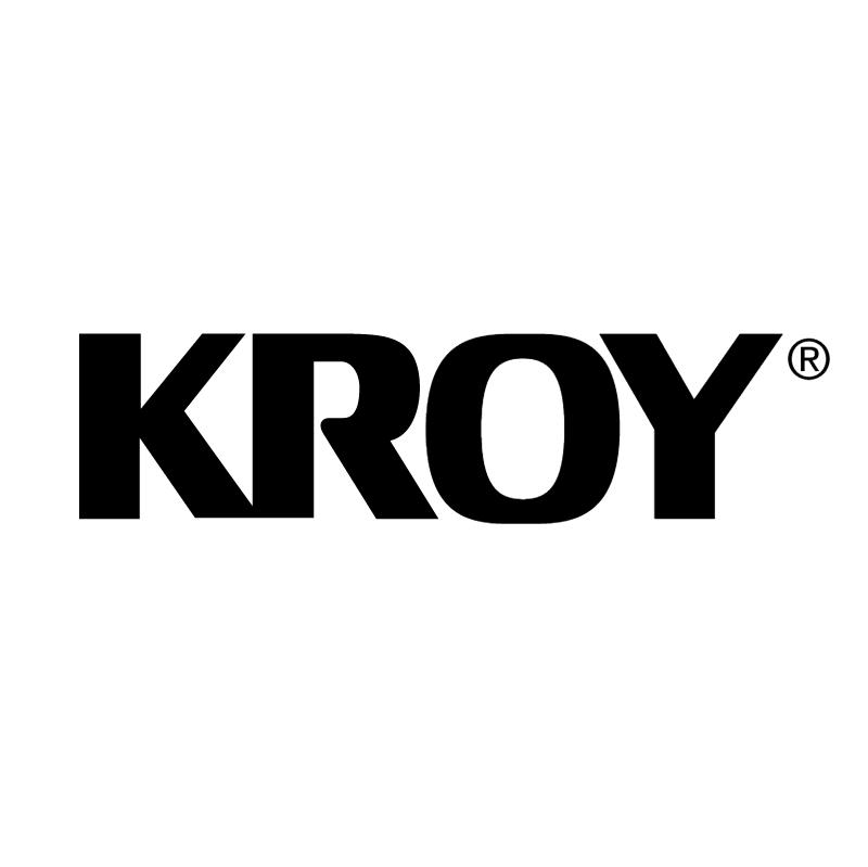 Kroy vector logo
