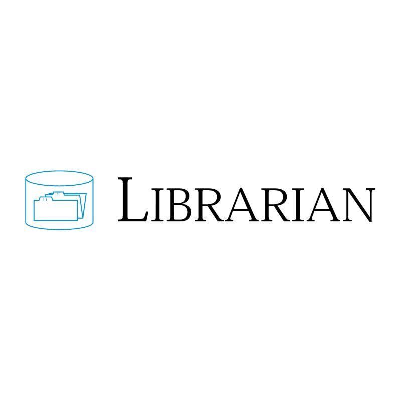 Librarian vector logo
