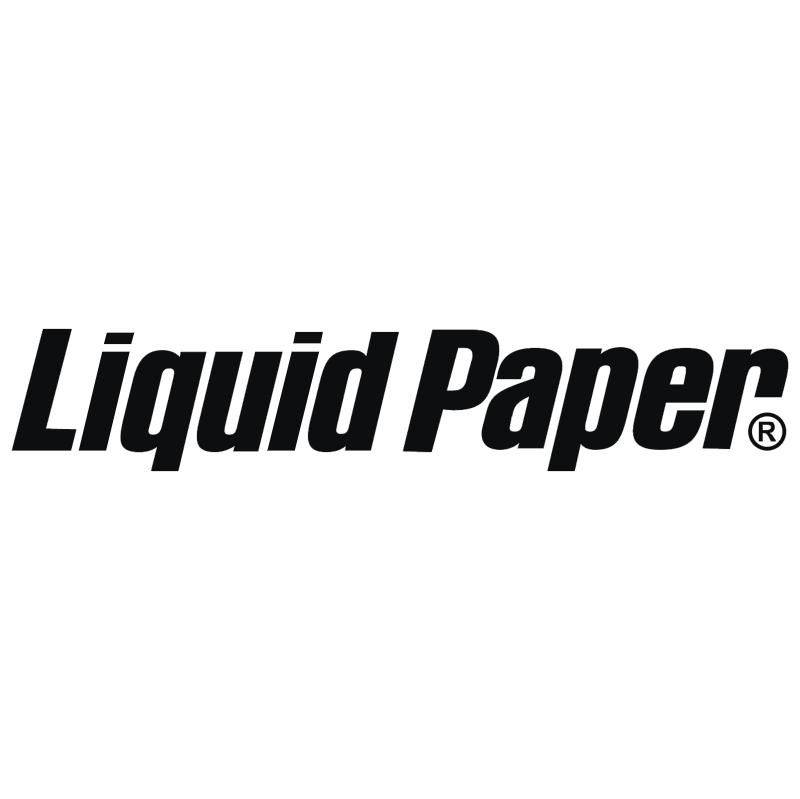 Liquid Paper vector