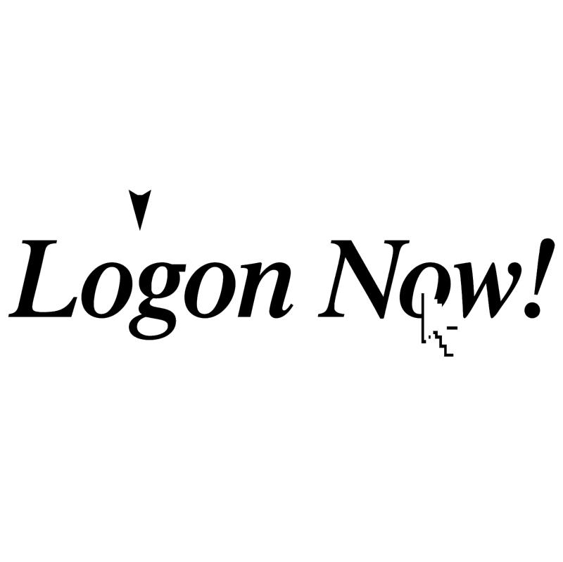 Logon Now! vector