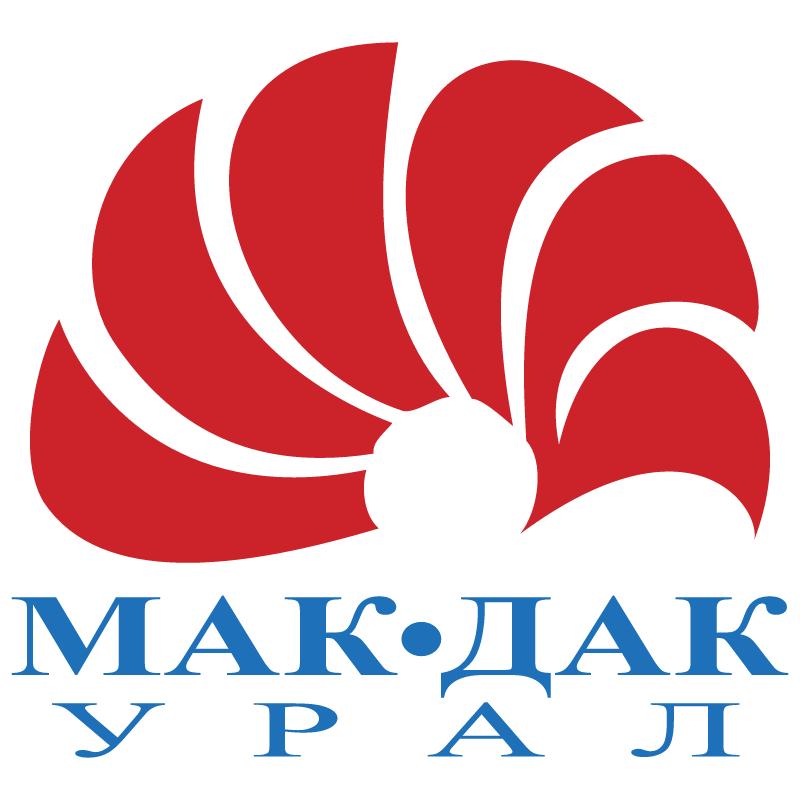 Mak Dak Ural vector logo