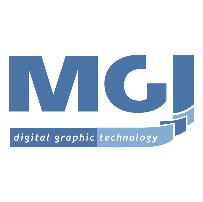 MGI vector logo