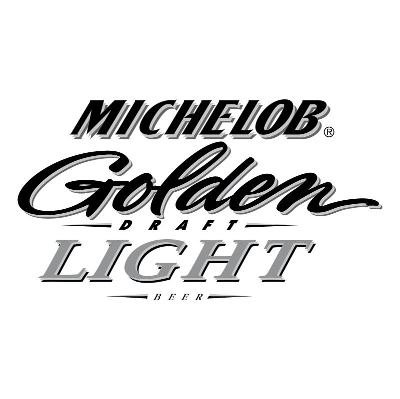 Michelob Golden Draft Light Beer vector