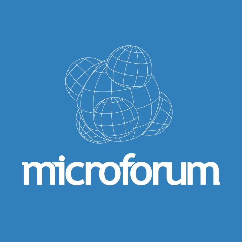 Microforum vector logo