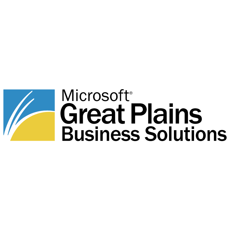 Microsoft Great Plains vector logo
