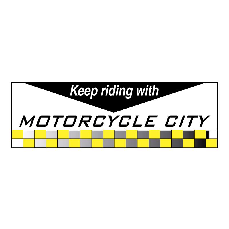 Motor Cycle City vector