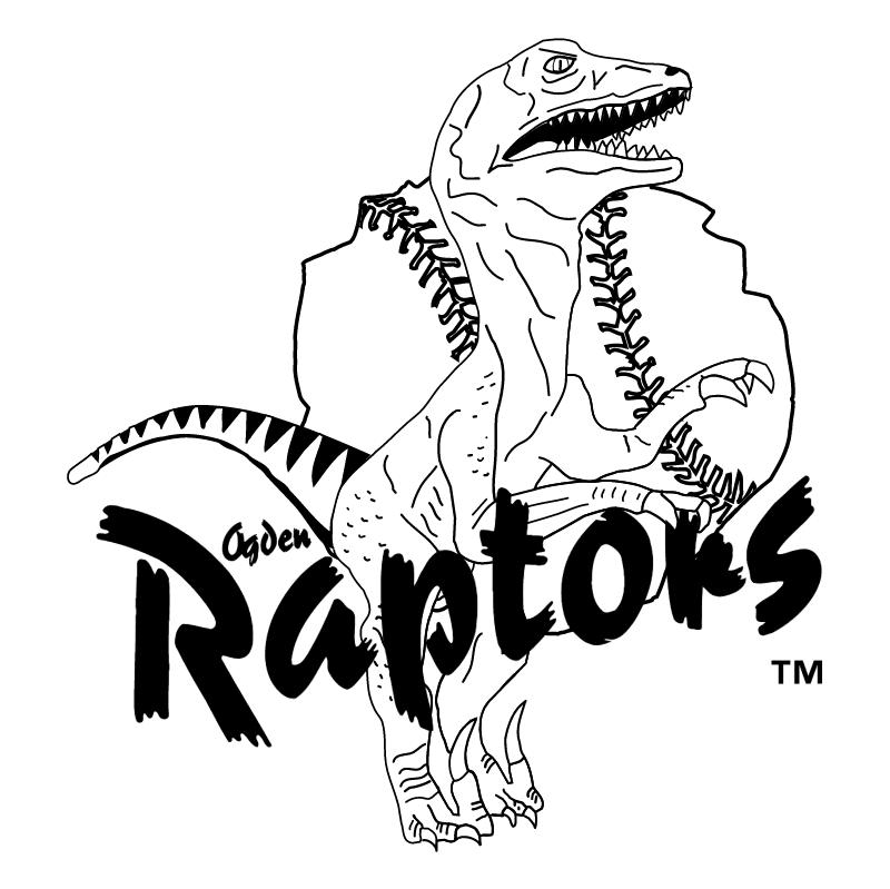 Ogden Raptors vector logo