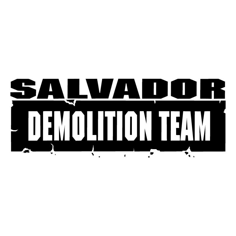 Salvador Demolition Team vector