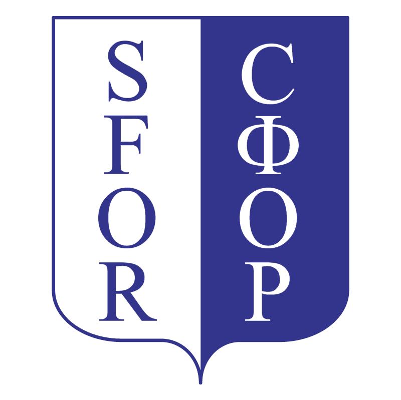 SFOR vector logo