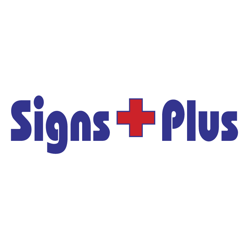 Signs Plus vector