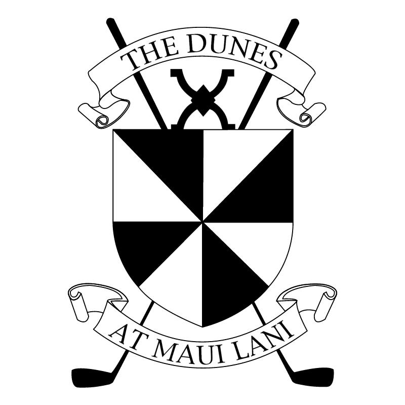 The Dunes at Maui Lani vector logo