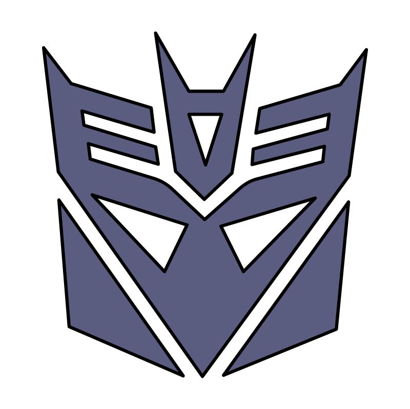 Transformers Decepticon vector