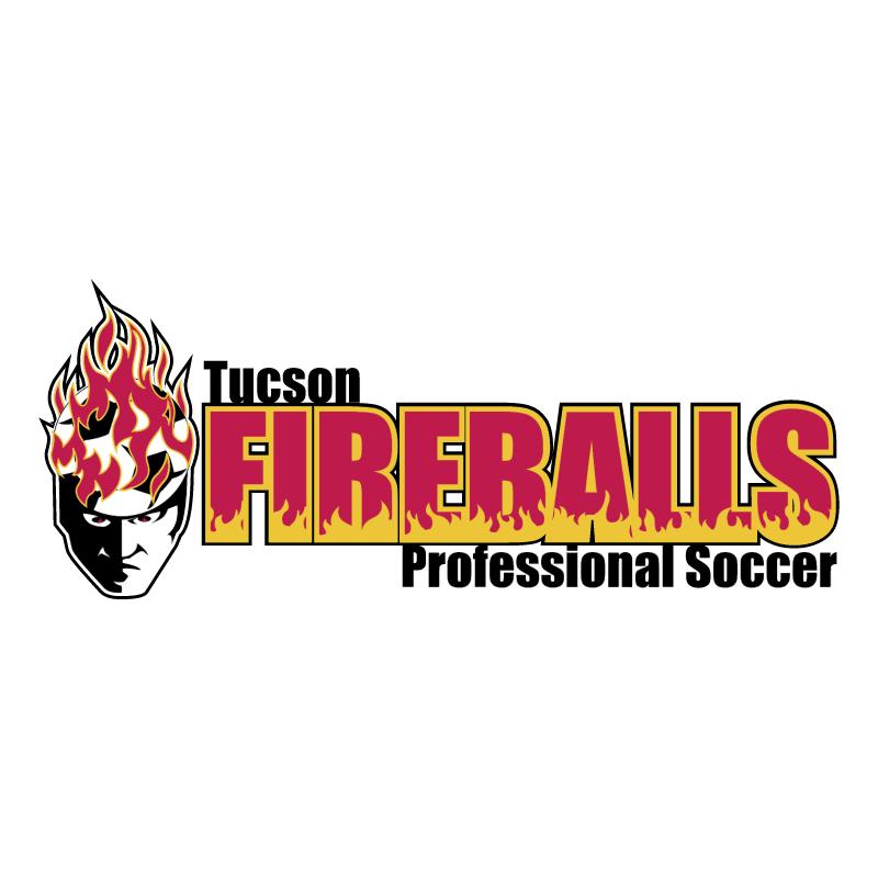 Tucson Fireballs vector logo
