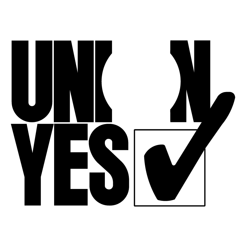 UNION YES vector