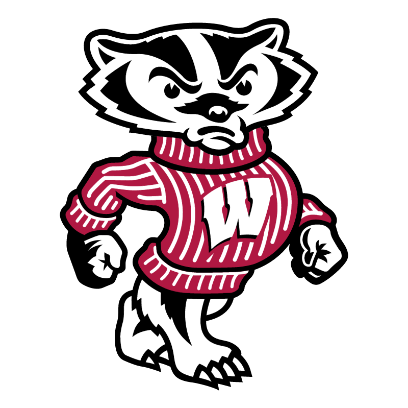 Wisconsin Badgers vector