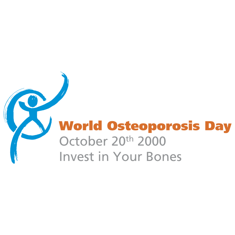 World Osteoporosis Day vector logo