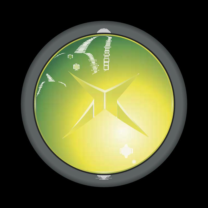 XBOX Button vector
