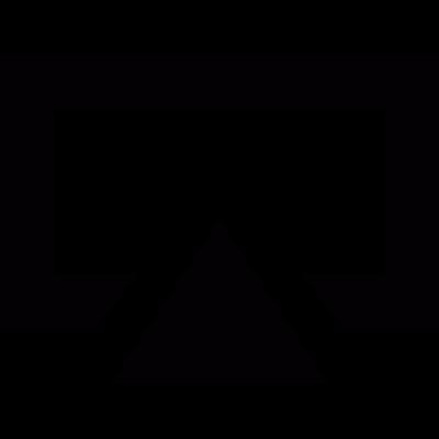 Uploading file vector logo