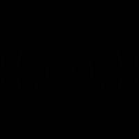 Wireless signal, IOS 7 interface symbol vector