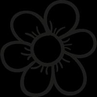 Garden Daisy vector