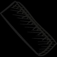 School Ruler vector