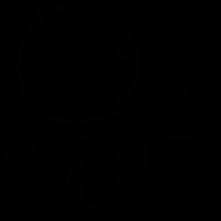 Avatar with a Star vector