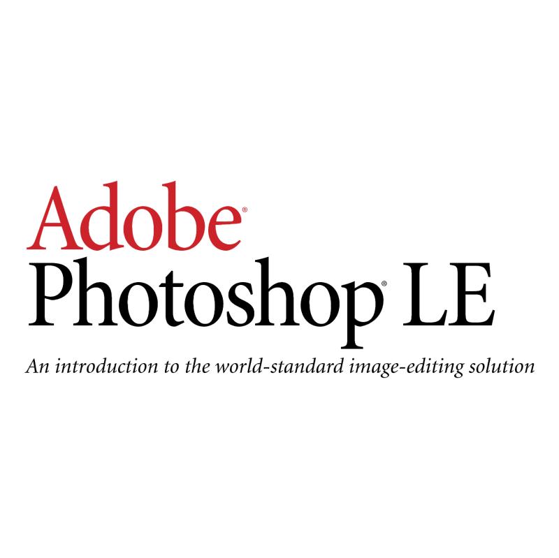 Adobe Photoshop LE vector