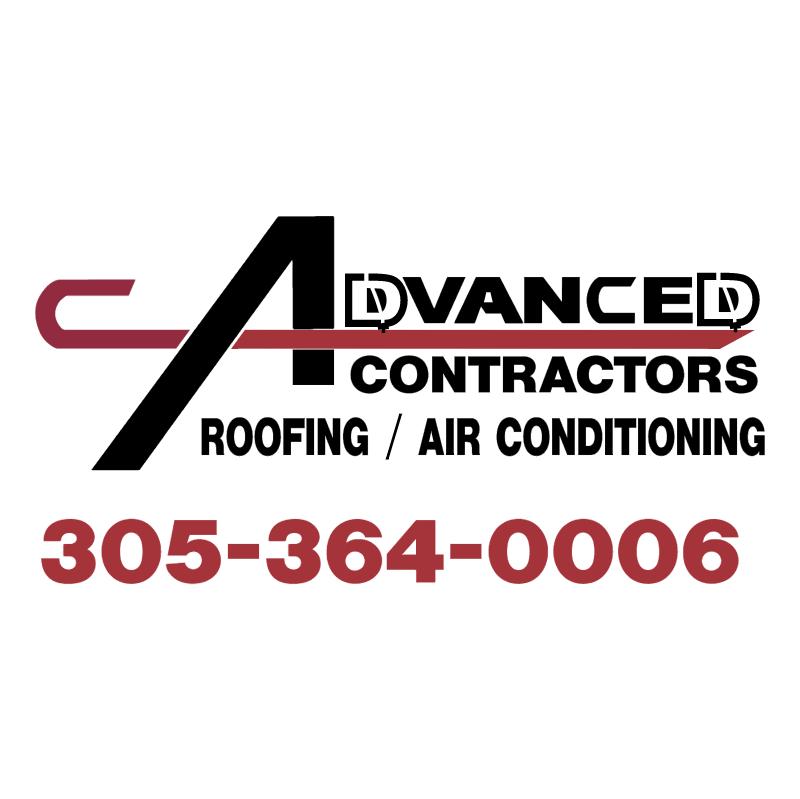 Advanced Contractors vector
