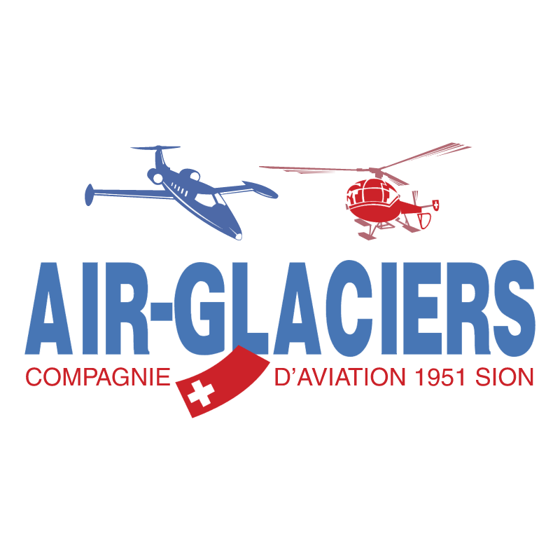 Air Glaciers vector