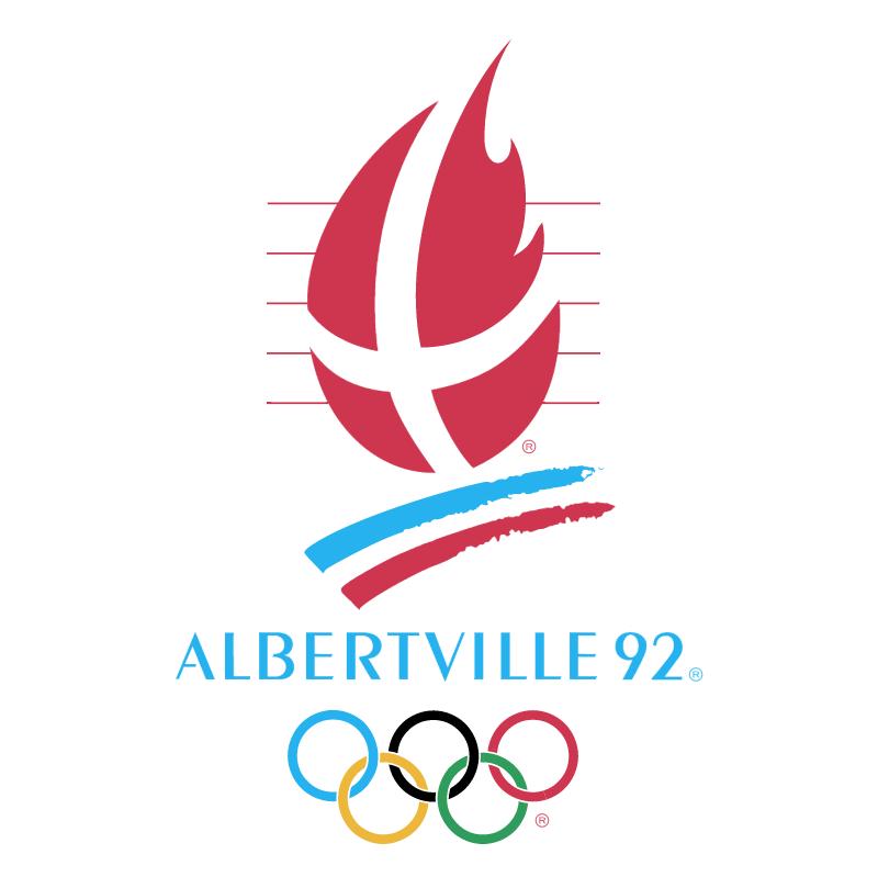 Albertville 1992 vector