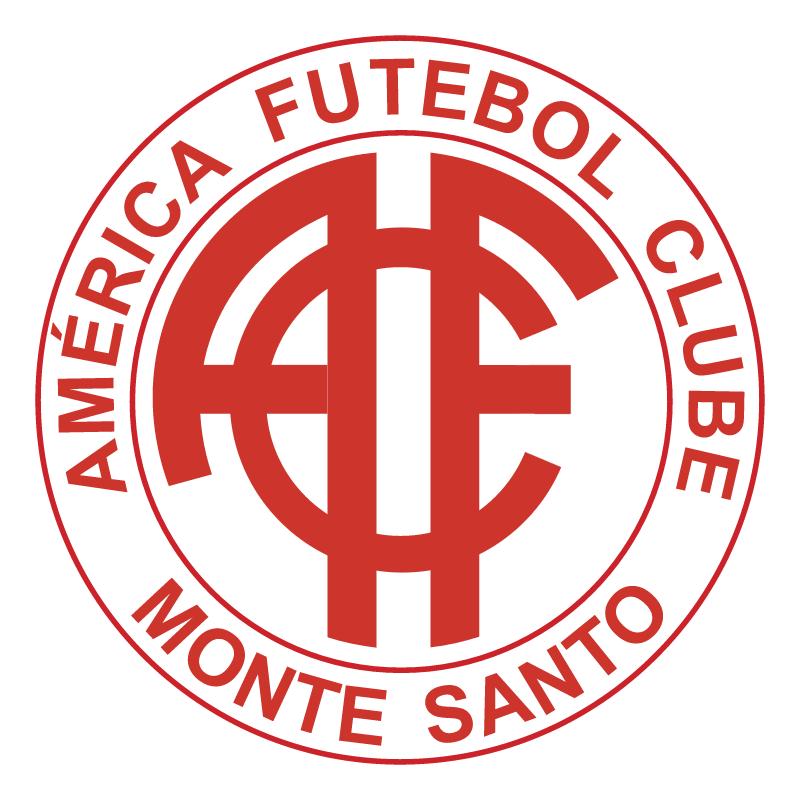 America Futebol Clube de Monte Santo MG vector