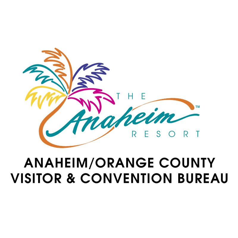 Anaheim Visitor Bureu vector